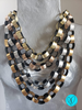 Chain Leather Necklace