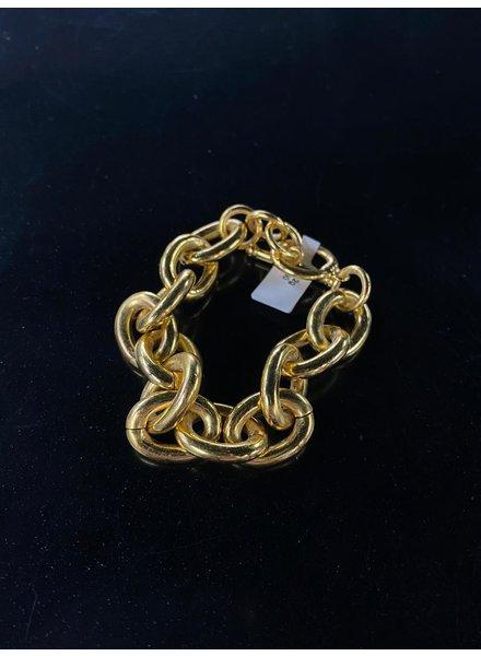 Gold Plated Bracelet 4 soles