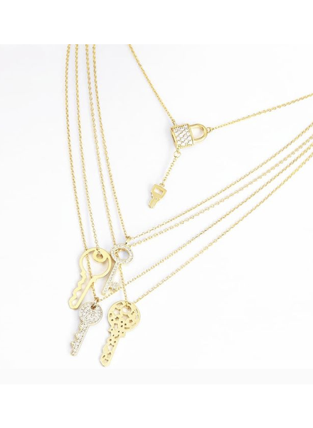 Set 5 Pieces silver or gold