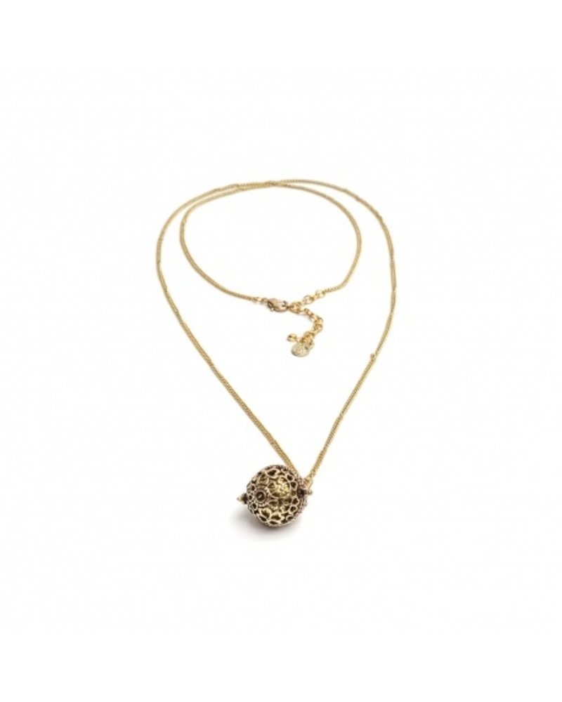 NECKLACE CHAIN CALLS ANGELS FLOWER