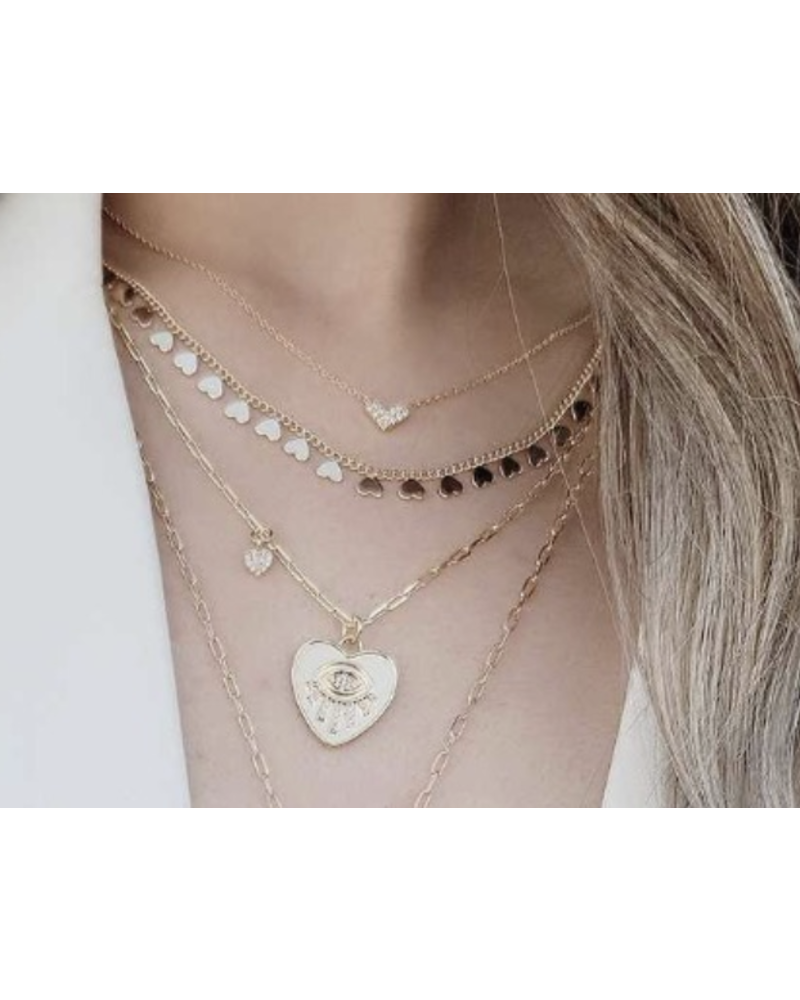 Heart 3 Necklaces
