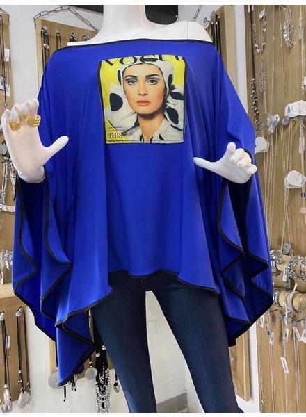 Vogue Tunic by Omdaya One size