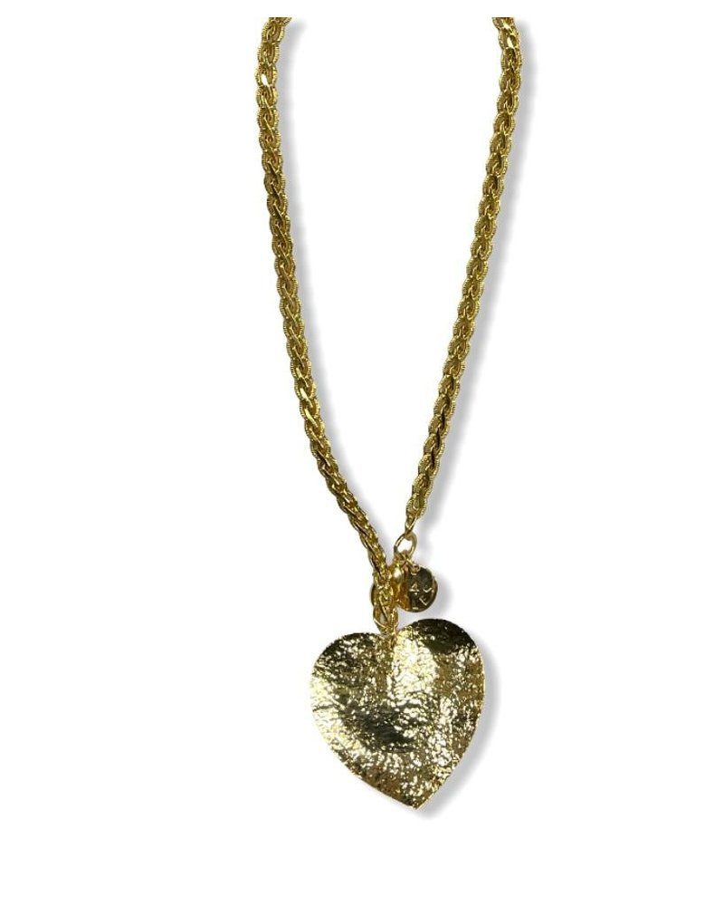 Big Heart Necklace by 4 Soles