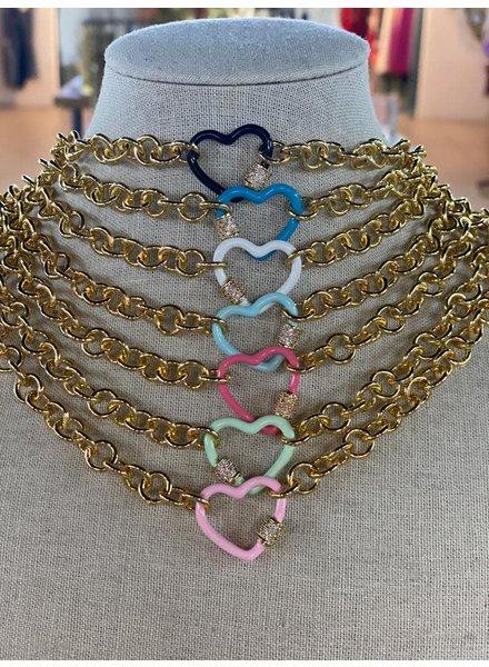 heart neklace by 4 soles