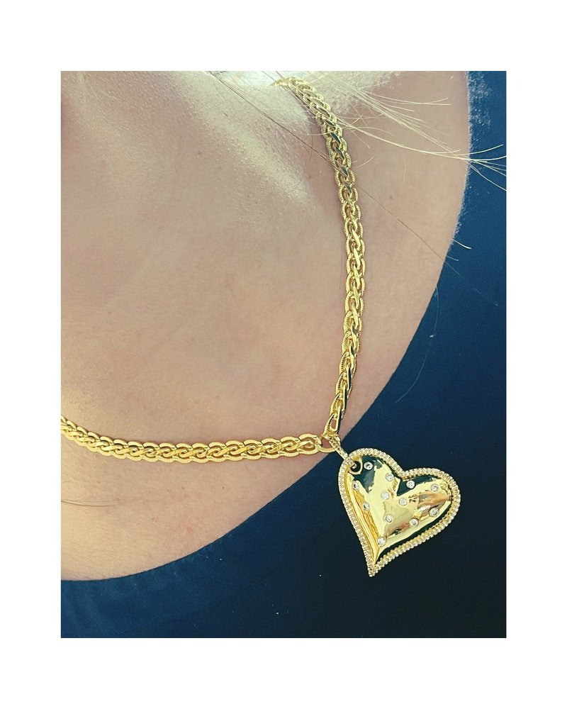 Heart necklace by 4 soles