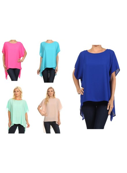 solid tunic one size