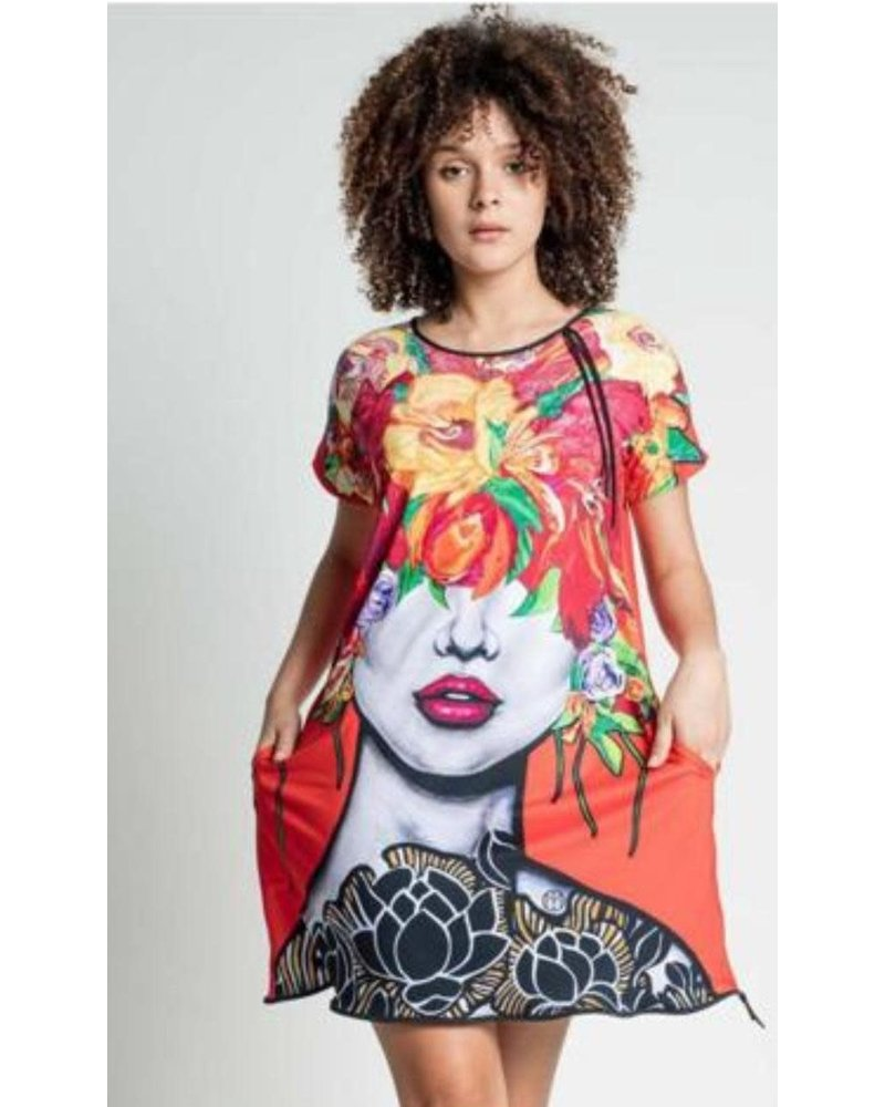 Floral Dress Omdaya