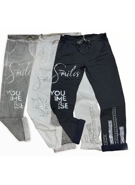 Smile Joggers One Size