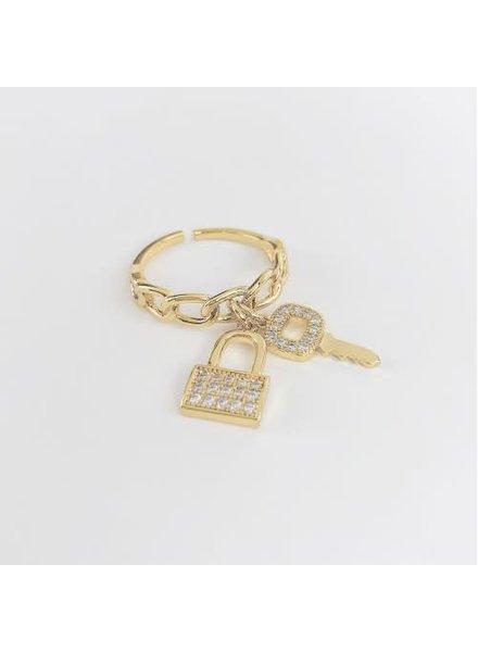 lock & key ring