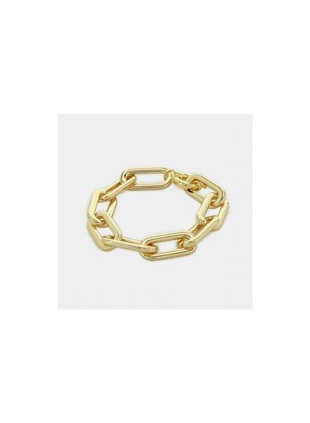Oversized Paperclip Bracelet