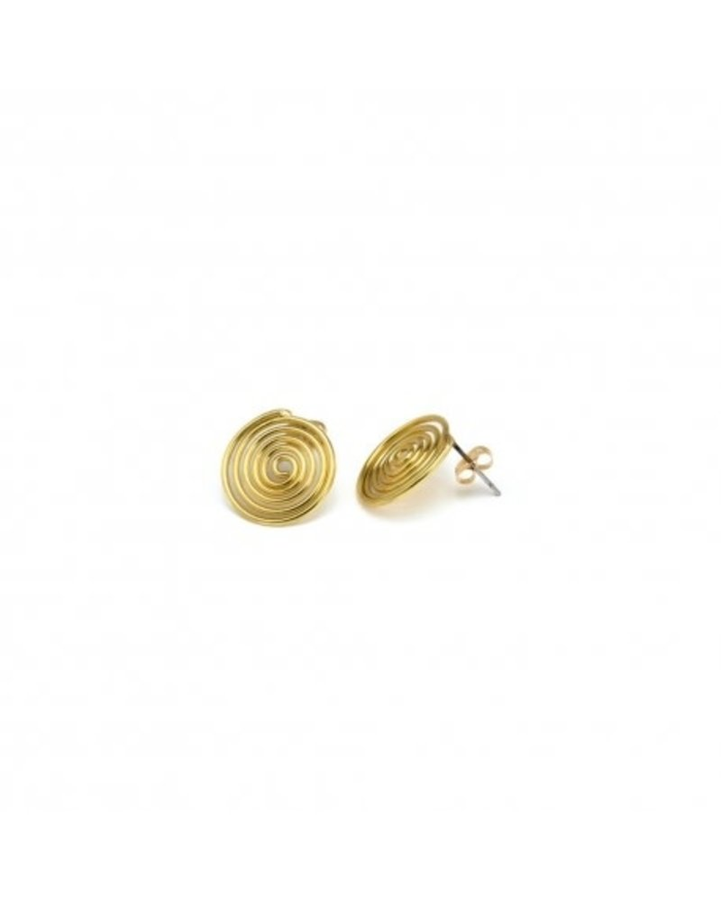 EARRIGNS SPIRAL (STUD CLASP)
