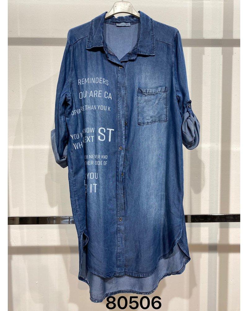 Denim Dress One size