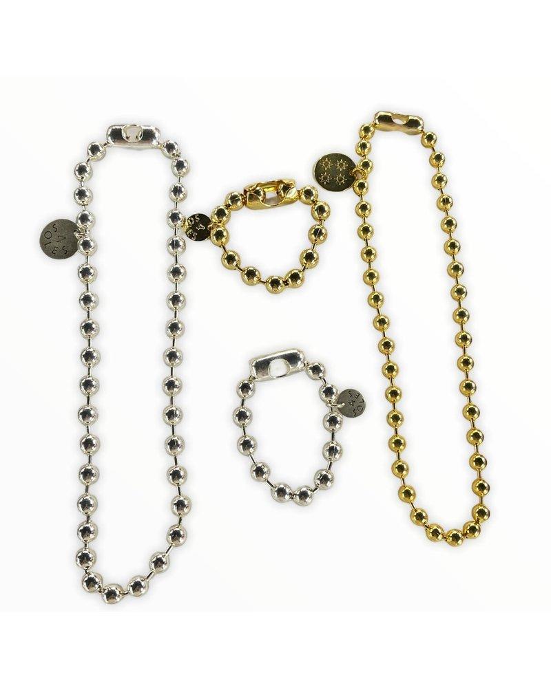 4 soles necklace 8m