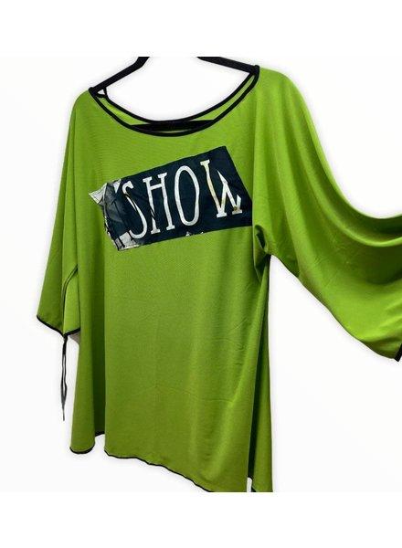 omdaya  show tunic m/l