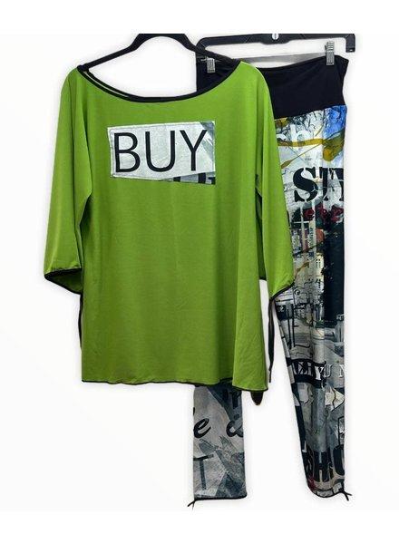 omdaya tunic buy s/m green