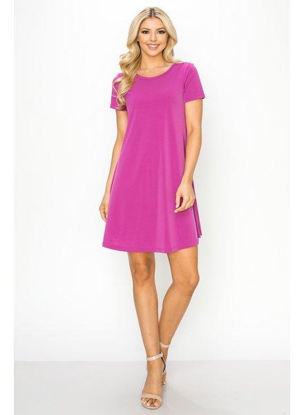 Lilac Swingy Tee Dress