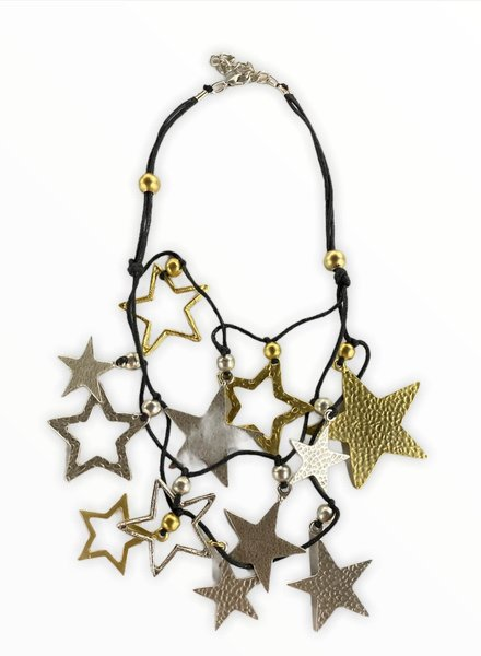 stars chocker necklace