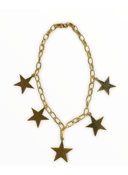 stars chocker necklace