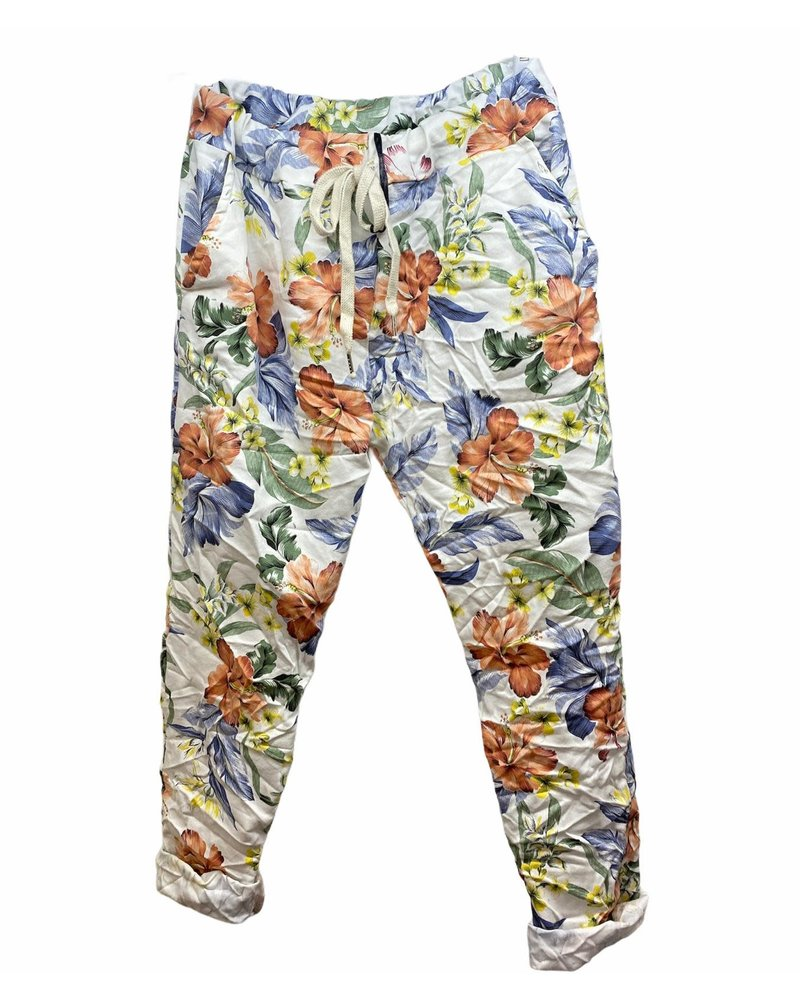 Flower Jogger White One Size