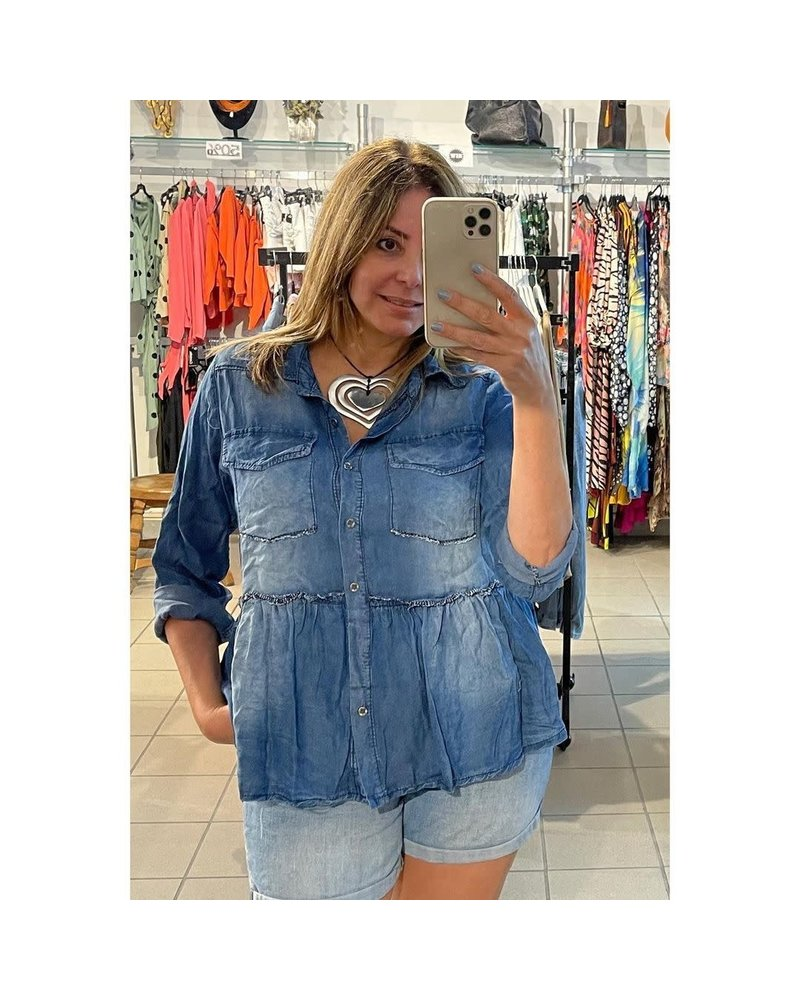 denim top one size