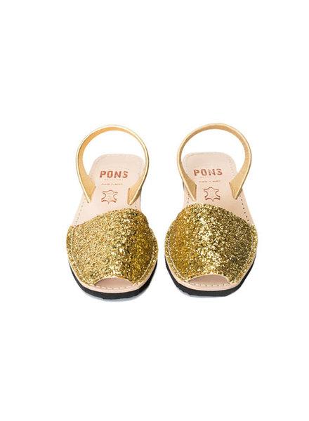 Wedge Glitter Gold 5