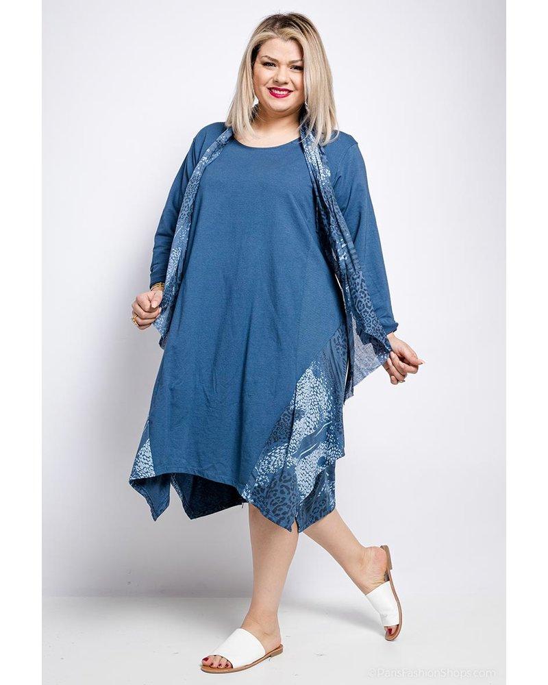 Plus Dress Animal Print One Size