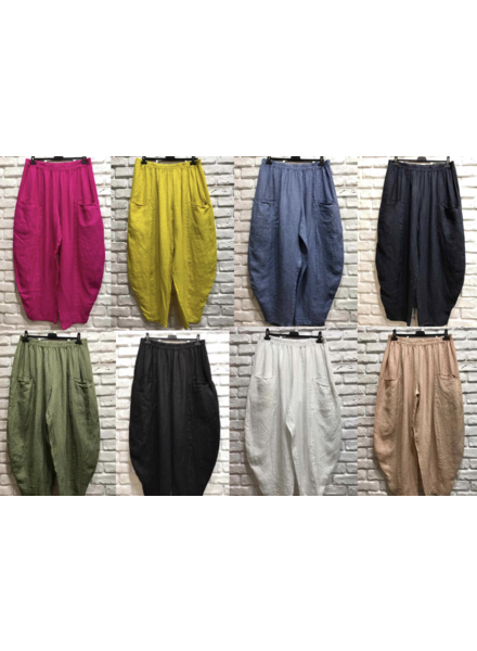 Linen one size pant