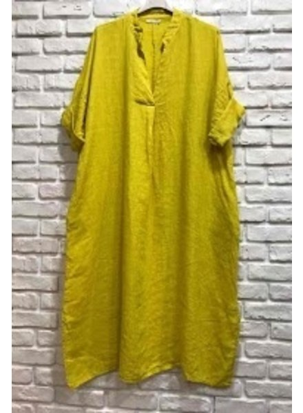 Edna Over Size Dress One size PLUS