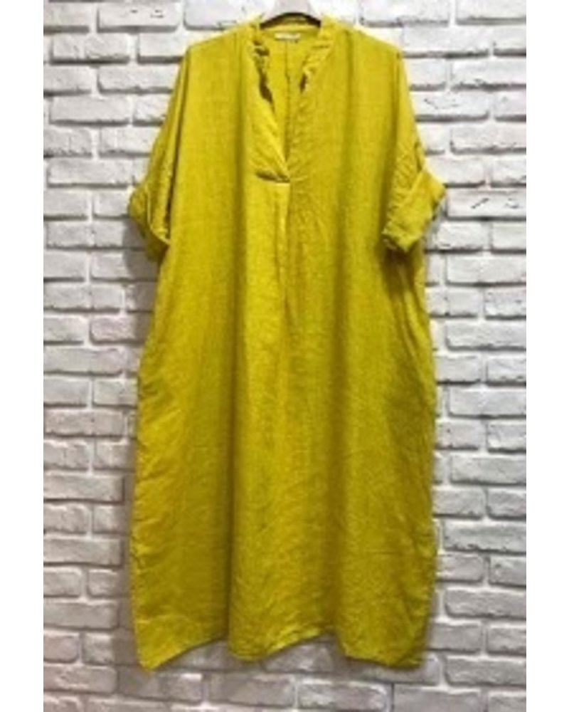 Edna Over Size Dress One size