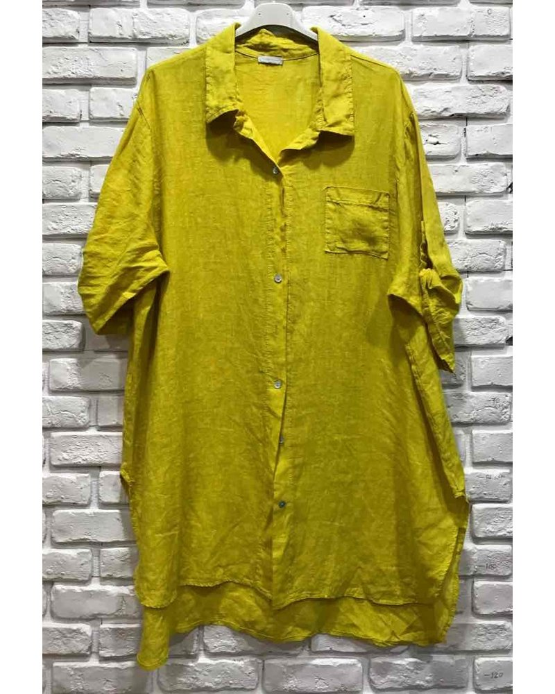 Cecile Linen Shirt One size