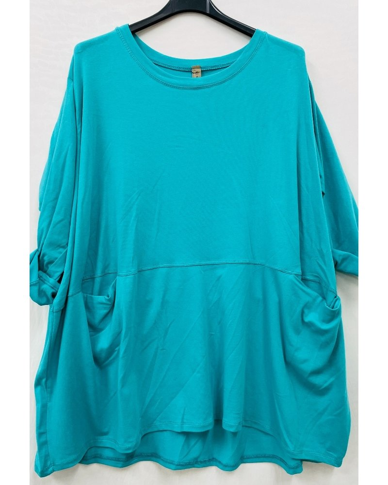 Basic Loose Tunic One size Plus