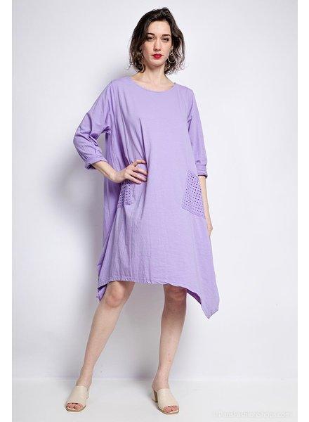 Basic Cotton Dres One size