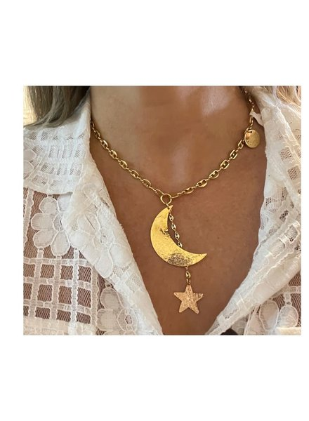 Moon & Star Marine Chain  by 4 soles