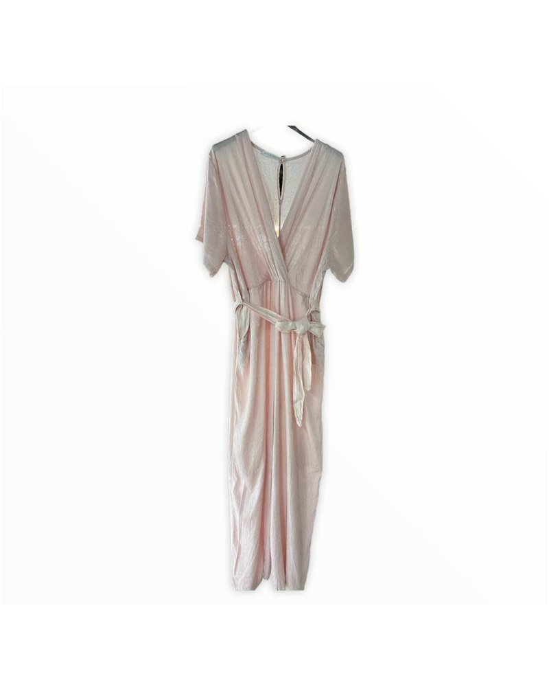 jumpsuit pink one size