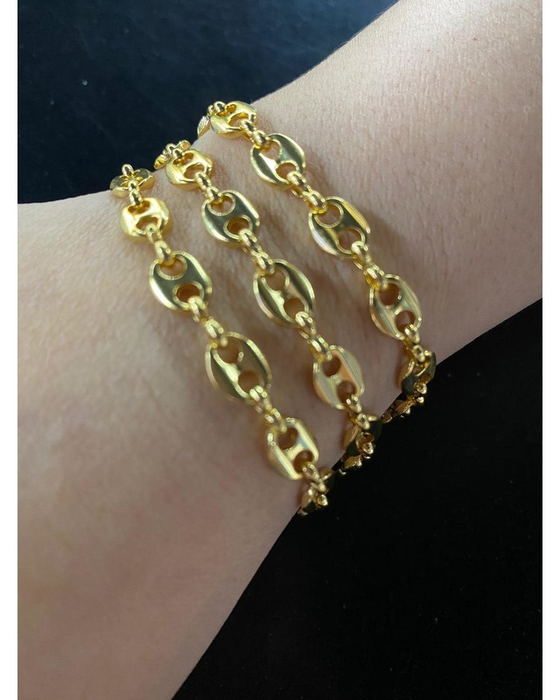 14k gold plated by 4 soles