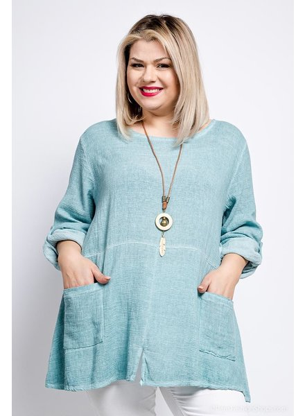 Tunic With Necklace One Size