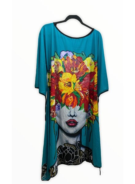 floral dress by omdaya