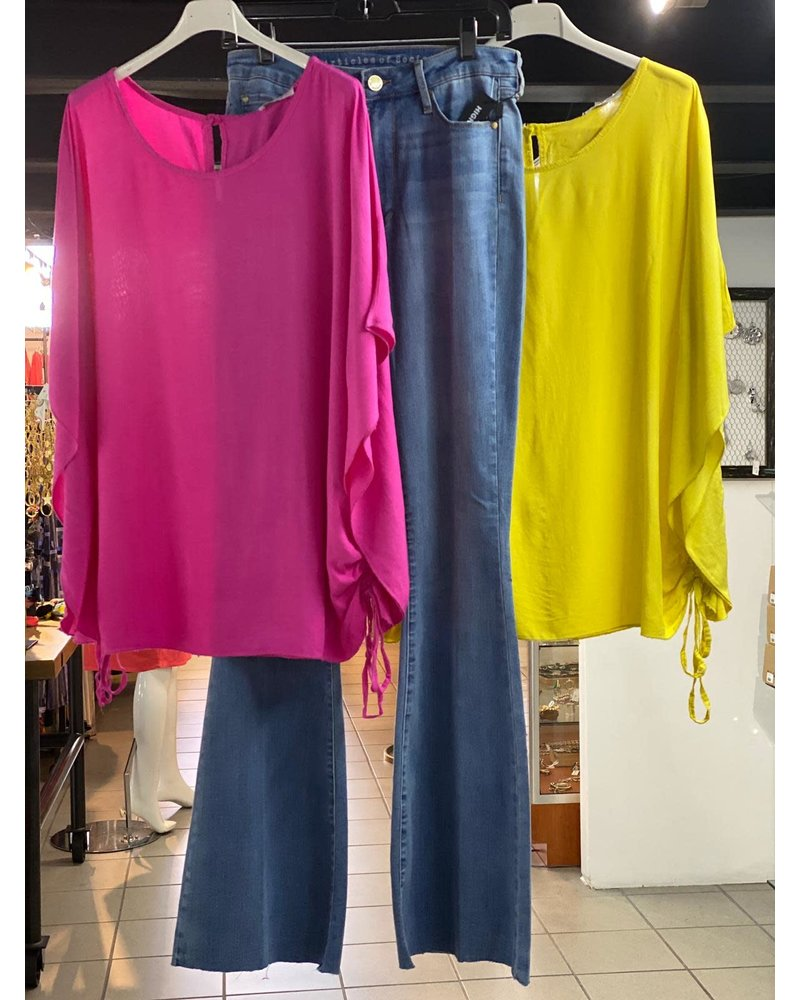 classic mid sleeve top one size