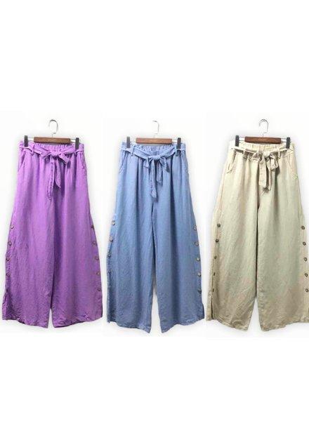one size linen pants