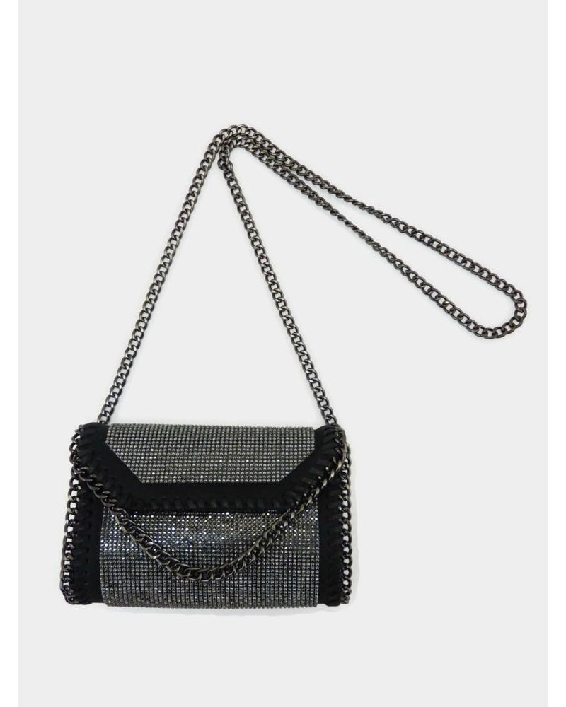 Chain Shoulder Black