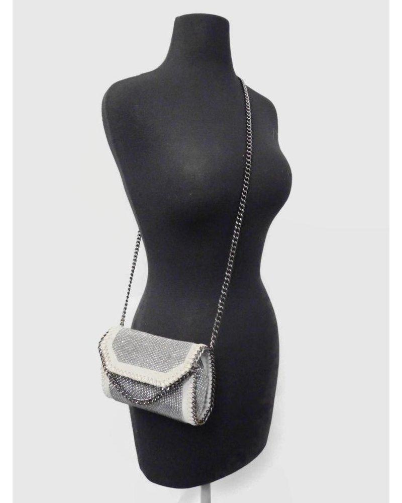 Chain Shoulder Silver