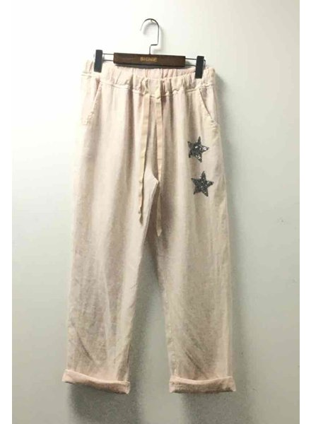 One size linen pant