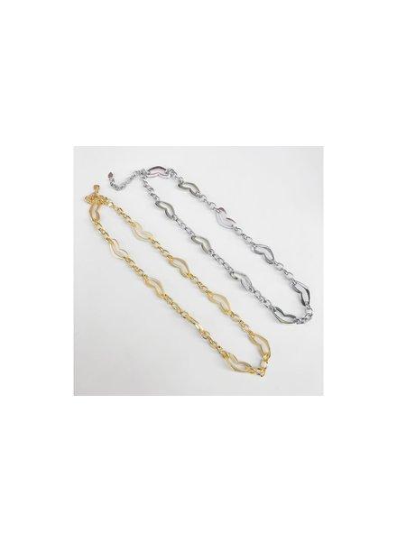 Heart Chain Silver