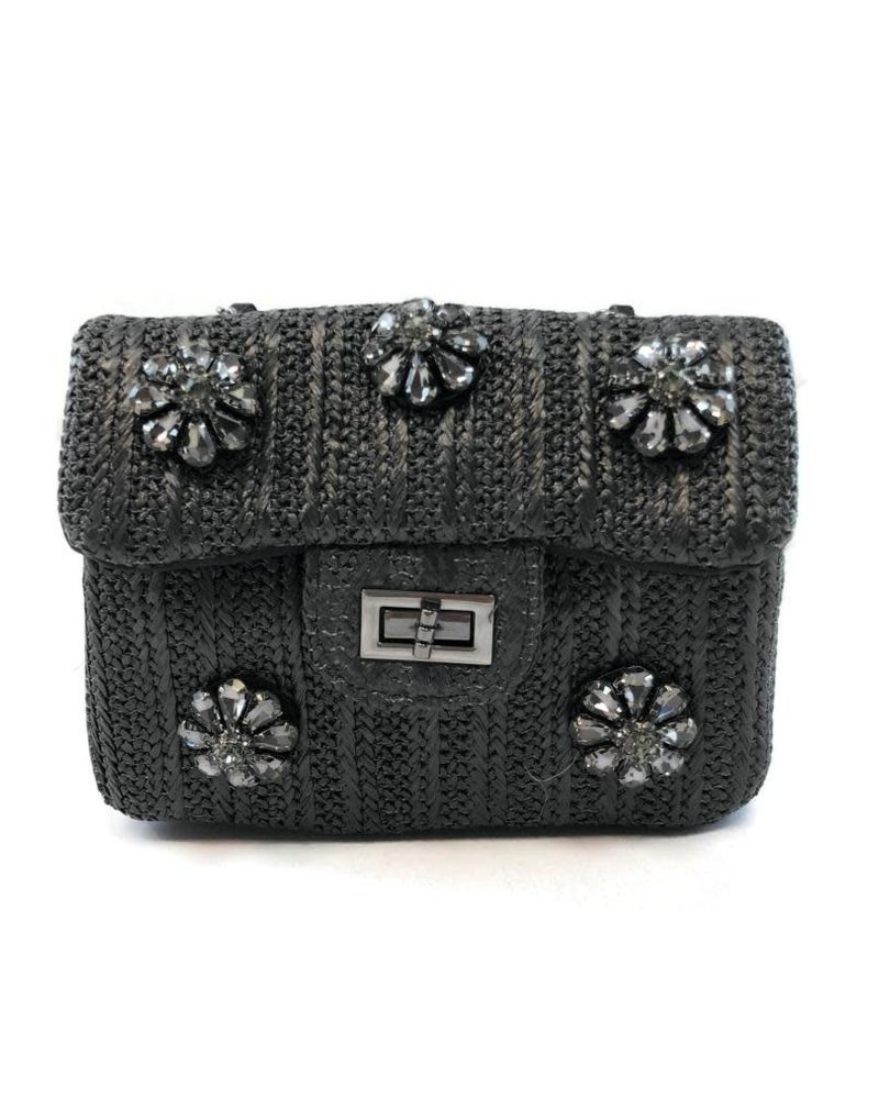 Handbag Black/Crystals