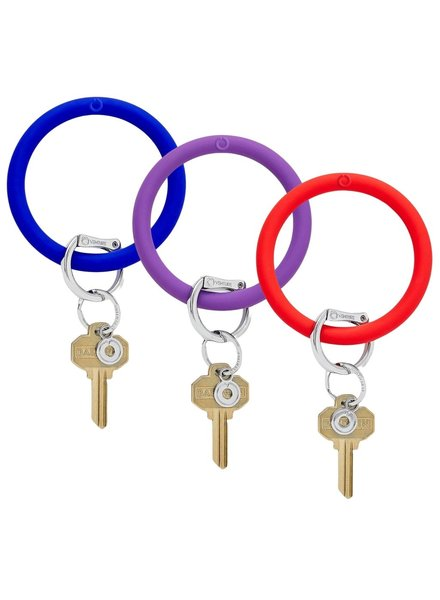 Jewel tone  Collection Silicone Key Ring