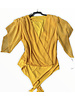 Chiffon bodysuit by designer
