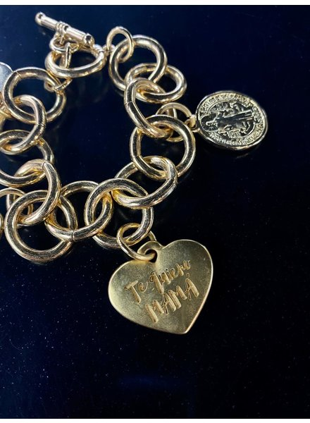 4 Soles Bracelet Te Quiero Mamá