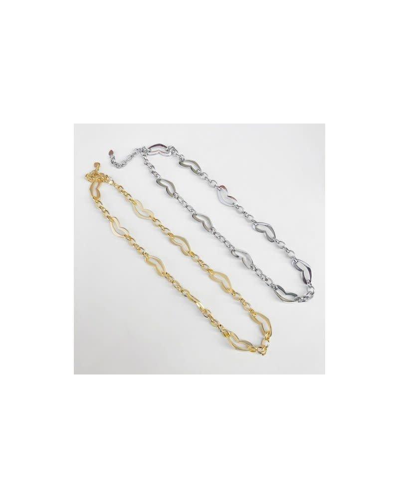 Heart Chain Gold