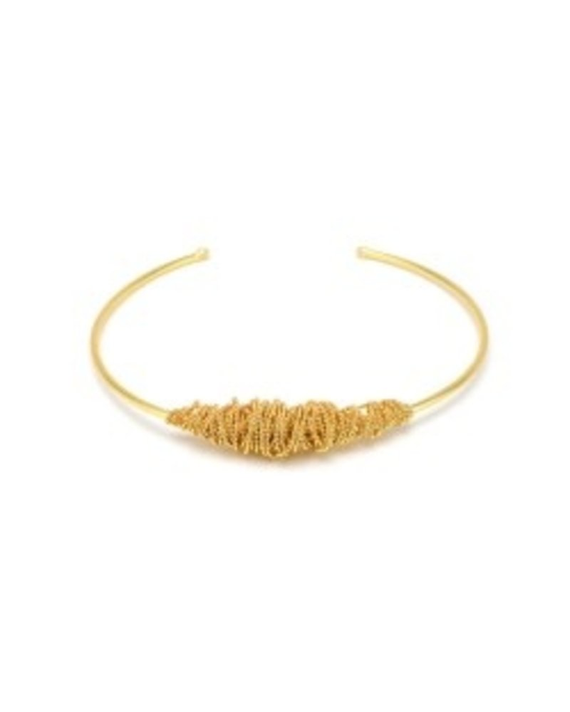 CHOKER ROLLED UP WIRE