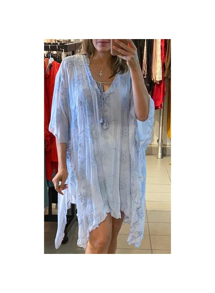 one size tunic with lace